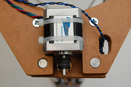 Ceramic 3D printer - motors