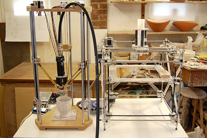 Jonathan Keep, Delta ceramic 3D printer