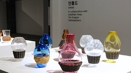 Jonathan Keep, with UNFOLD witat Cheongju International Craft biennale