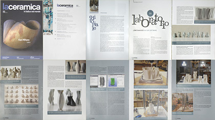 Jonathan Keep, LaCeramic magazine article