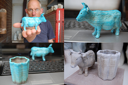 Jonathan Keep, Egyptian Paste 3D printing