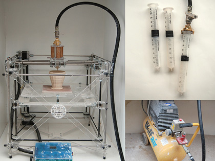 Jonathan Keep, 3d ceramic printer