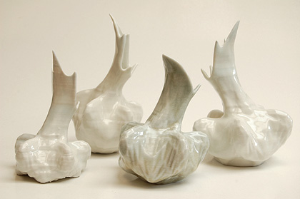 Ceramic 3D prited vases